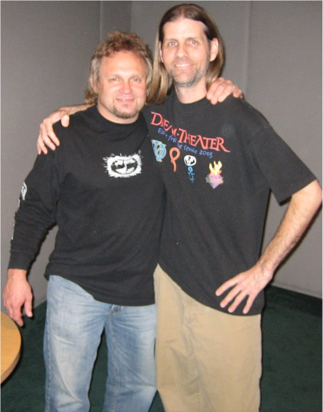 Donnie with Michael Anthony 3-13-06